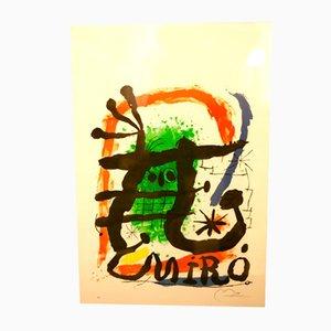 Lithographie Graphic Works par Joan Miró pour Galerie Maeght, années 60