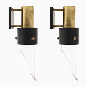 Sconces by Kay Kørbing for Lyfa, 1960s, Set of 2