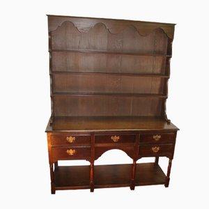 Large Oak Dresser, 1940s