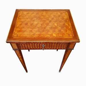 Table Basse Style Louis XVI Ancienne en Palissandre
