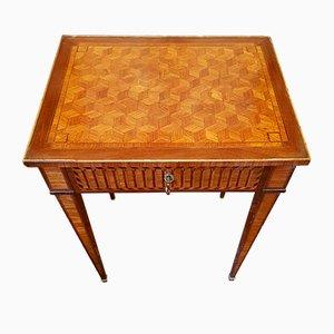 Tavolino da caffè antico in stile Luigi XVI in palissandro