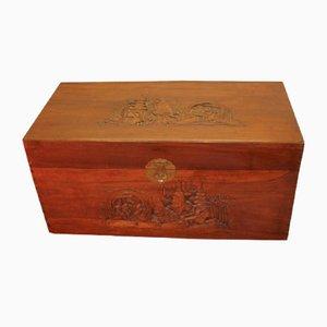 Kiste aus Kampferholz, 1920er