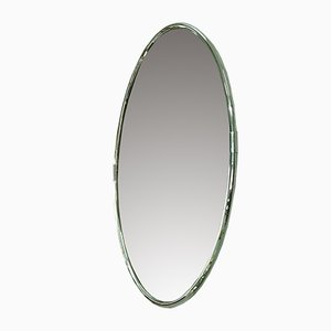 Italian Chromed Mirror, 1970s