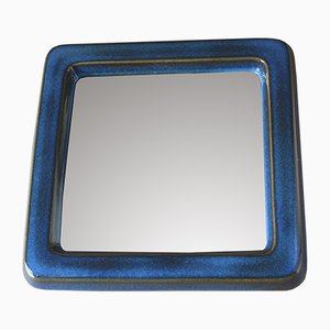 Lagun 7 Ceramic Mirror by Sven Jonson for Gustavsberg, 1960s