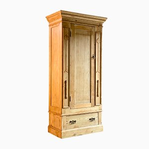 Antique Pine Wardrobe, 1910s