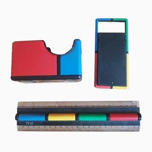 Schreibtischset von TINO für TT Designs, 1980er Jahre, 6er Set