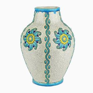 Modell D889 F909 Keramis Vase von Charles Catteau für Boch Frères, 1924