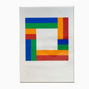 Serigraph by Max Bill, 1970s