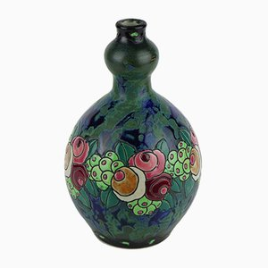 Model D700 F904 Keramis Stoneware Vase by Charles Catteau for Boch Frères, 1922