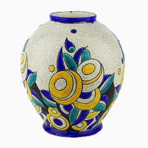 Modell D1175 F894 Keramis Vase von Charles Catteau für Boch Frères, 1928