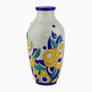 Modell D1175 F806 Keramis Vase von Charles Catteau für Boch Frères, 1928