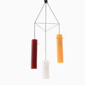 Lampe à Suspension en Acrylique, Italie, 1950s