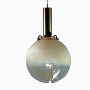 Mid-Century Swiss Sconce from Fällander Glas