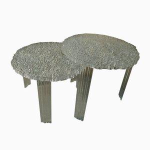 Tables Basses par Patricia Urquiola pour Kartell, années 2000, Set de 2