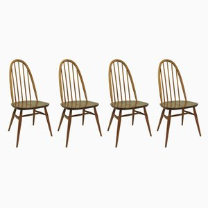 Mid-Century Dining Chairs by Lucian Ercolani for Ercol, 1960s, Set of 4
