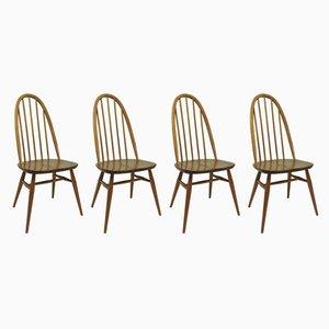 Mid-Century Esszimmerstühle von Lucian Ercolani für Ercol, 1960er, 4er Set