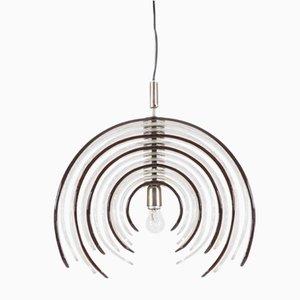 Große Artichoke Deckenlampe von Carlo Nason für Mazzega, 1970er