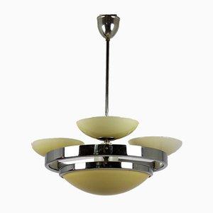 Lámpara de araña de Sandrik, años 40
