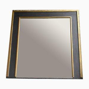 Specchio grande antico con cornice dorata