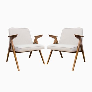 Model 300-177 Bunny Lounge Chairs from Dolnośląskie Furniture Factories, 1970s, Set of 2