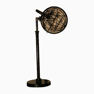 Brass Astronomical Table Lamp, 1930s