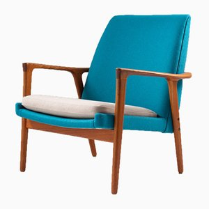 Mid-Century Scandinavian Lounge Chair from Bröderna Andersson, 1950s