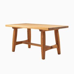Table Basse Scandinave en Bois de Pin de Krogenæs, années 60
