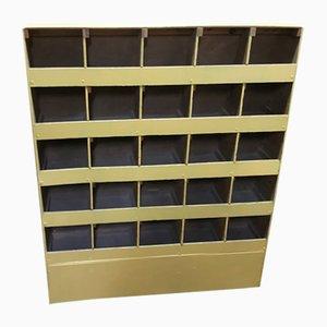 Vintage Postal Sorting Cabinet