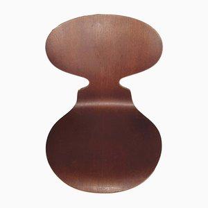 Modell Ant Stühle aus Teak von Arne Jacobsen für Fritz Hansen, 1950er, 6er Set