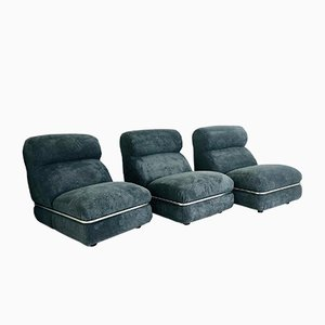 Modulare Sitzgruppe, 1970er, 3er Set