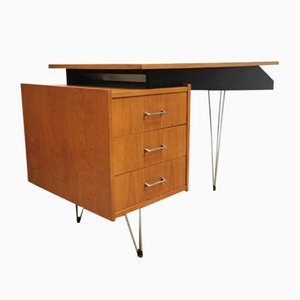 Mid-Century Dutch Desk by Cees Braakman for Pastoe, 1950s