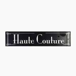 Vintage Couture Schild, 1970er