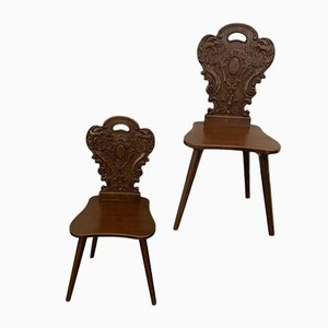 Dining Chairs from UDC, 1950s, Set of 2