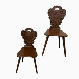 Esszimmerstühle von UDC, 1950er, 2er Set