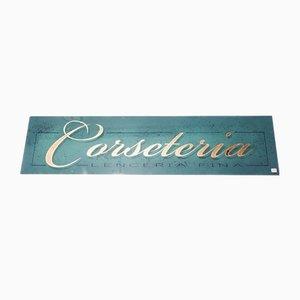 Corseteria Sign, 1960s