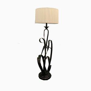 Vintage Sculptural Floor Lamp, 1980s