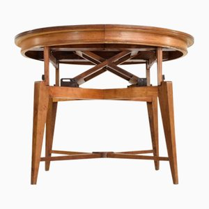 Extendable Dining Table by Marcel Gascoin, 1950s