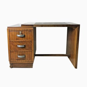 Rosewood and Oak Desk, 1930s