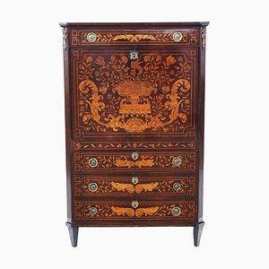 Antique Dutch Marquetry Secretaire