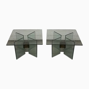 Side Tables by Peter Ghyczy, 1980s, Set of 2