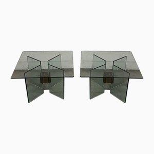 Tables d'Appoint par Peter Ghyczy, années 80, Set de 2