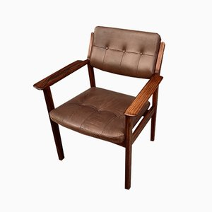 Mid-Century Model 246 Rosewood Armchair by Arne Vodder for Sibast