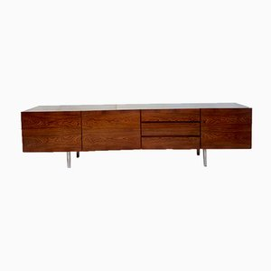 Mid-Century Scandinavian Rosewood and Chrome Sideboard from Royal board, 1970s