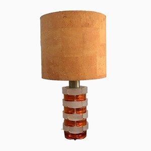 Lámpara de mesa italiana Mid-Century de Poliarte, años 60