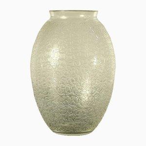 Vase Art Déco Vintage en Cristal de Daum, France, années 30