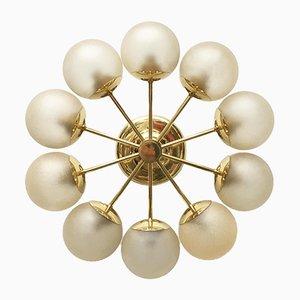 Mid-Century German Ceiling Lamp from Kaiser Leuchten, 1970s