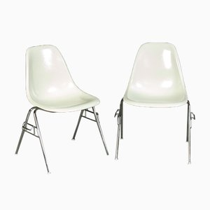 Mid-Century Dining Chairs by Charles & Ray Eames for Vitra, Set of 2