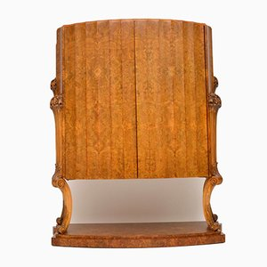Art Deco Burr Walnut Cocktail Cabinet by Harry and Lou Epstein, 1930s