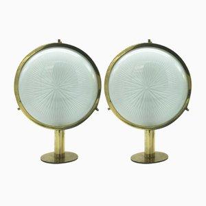 Lámparas de pared Gamma Mid-Century de Sergio Mazza para Artemide. Juego de 2