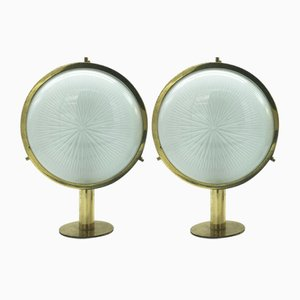 Mid-Century Gamma Wall Lamps by Sergio Mazza for Artemide, Set of 2